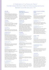 Comité Colbert Brochure page 2