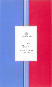 Comité Colbert Invitation front