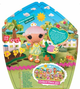 Lalaloopsy Littles Package for Petal Flowerpot