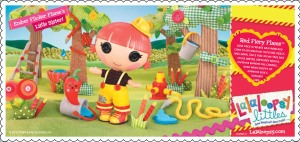 Lalaloopsy Littles Poster for Red Fiery Flame