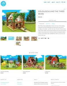 Storytime Toys: Goldilocks Playset